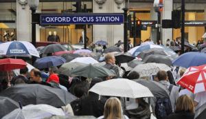 Rainy london