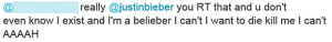 Then I saw her face...now I'm a Belieber