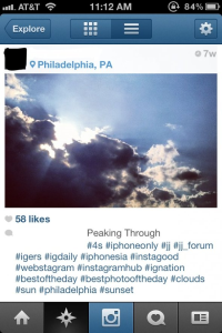#hashtag. That's meta gold right there.