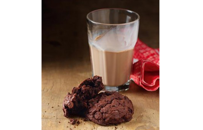 Totally Chocolate Chocolate Chip Cookies
