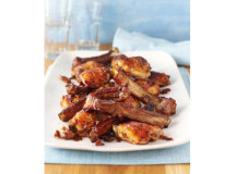 Maple Chicken 'n' Ribs