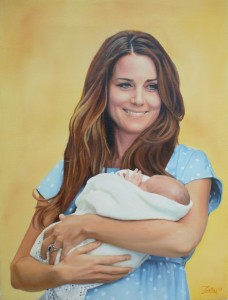 Kate_Middleton_holding_Prince_George_oil_painting