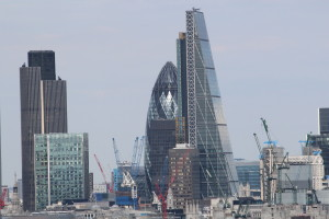 """One of these buildings is called the """"Shard"""". Not the Shart as I thought."""