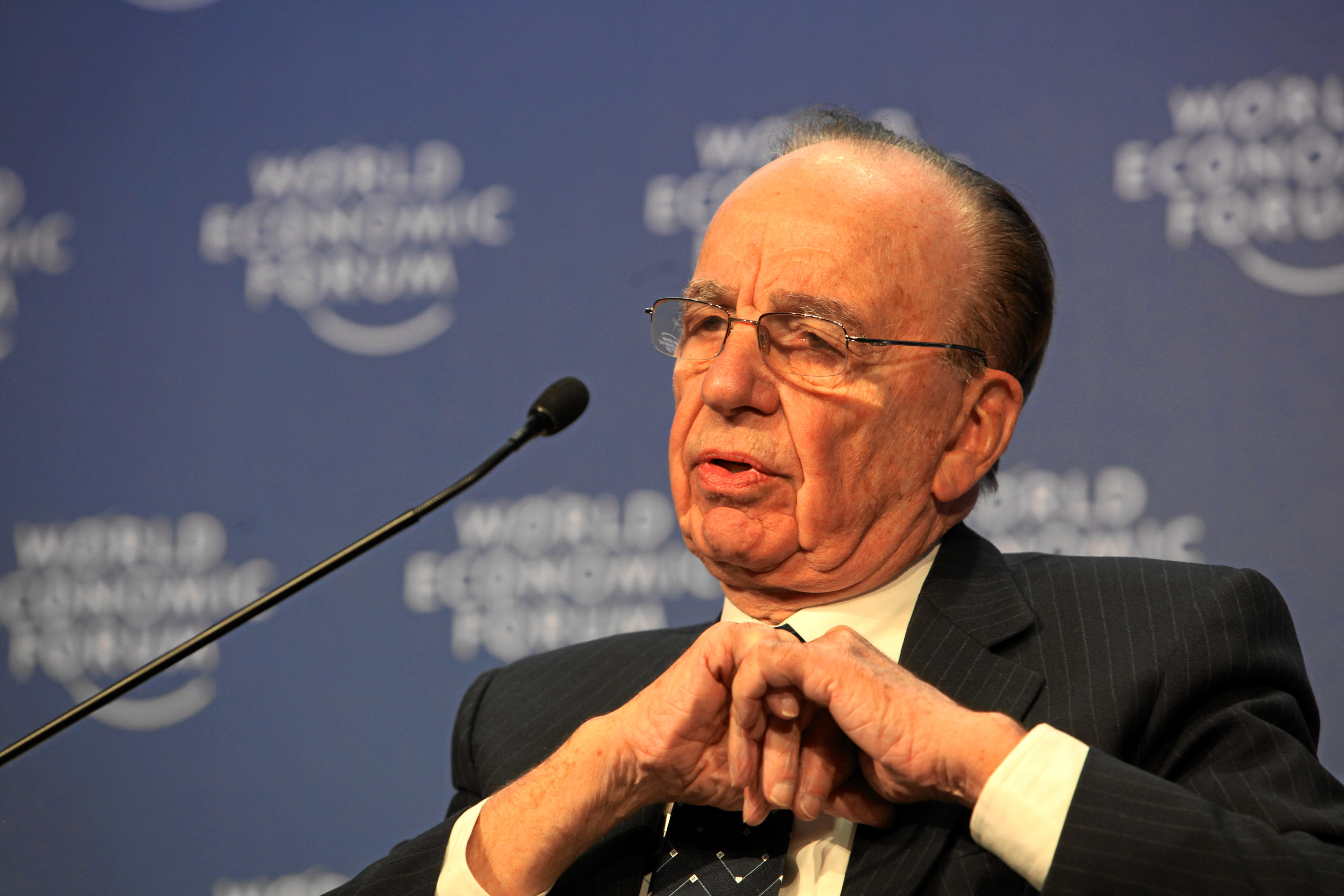 Is there a more real-life version of Mr Burns than Rupert Murdoch?