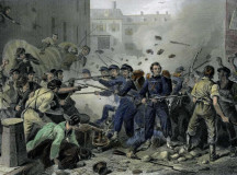 Baltimore Riot 1861. Slightly different shit, slightly different time, same place