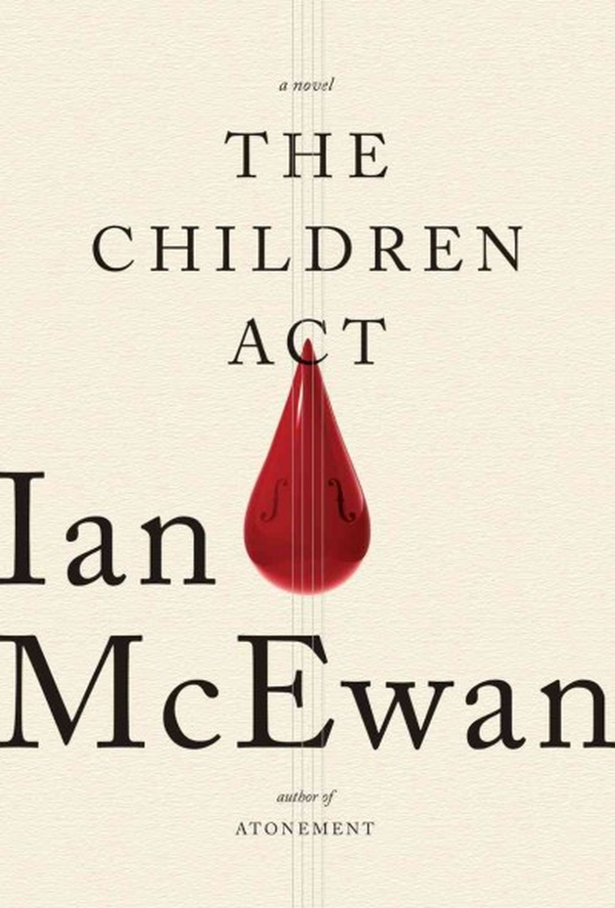 Let's give Him a name: 'The Children Act,' by Ian McEwan