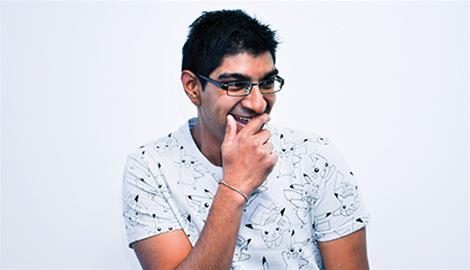 Comedy fest review: Sanjay Parbhu in Because I said I would