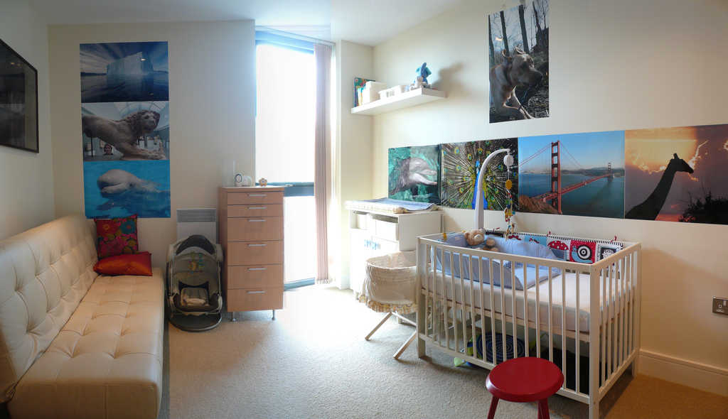 What to expect when you're not expecting VII: The baby room